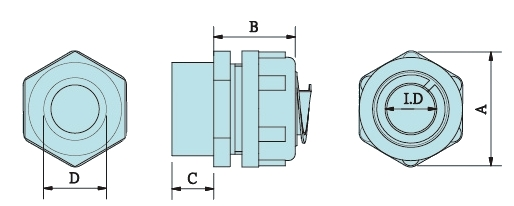 Female Thread liquid-tight flexible conduit fittings